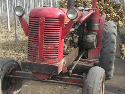 David Brown 50 D tractor found in Argentina